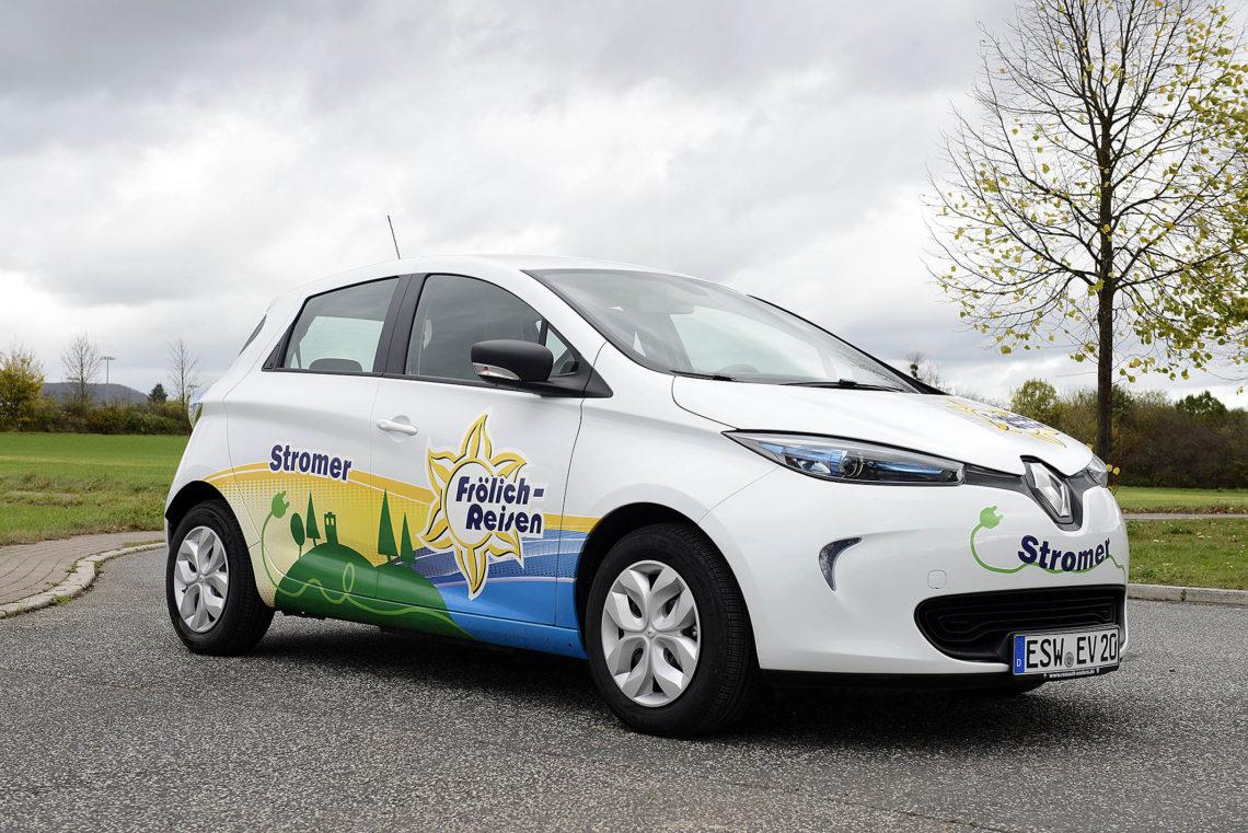 Stromer nachhaltig E-Auto