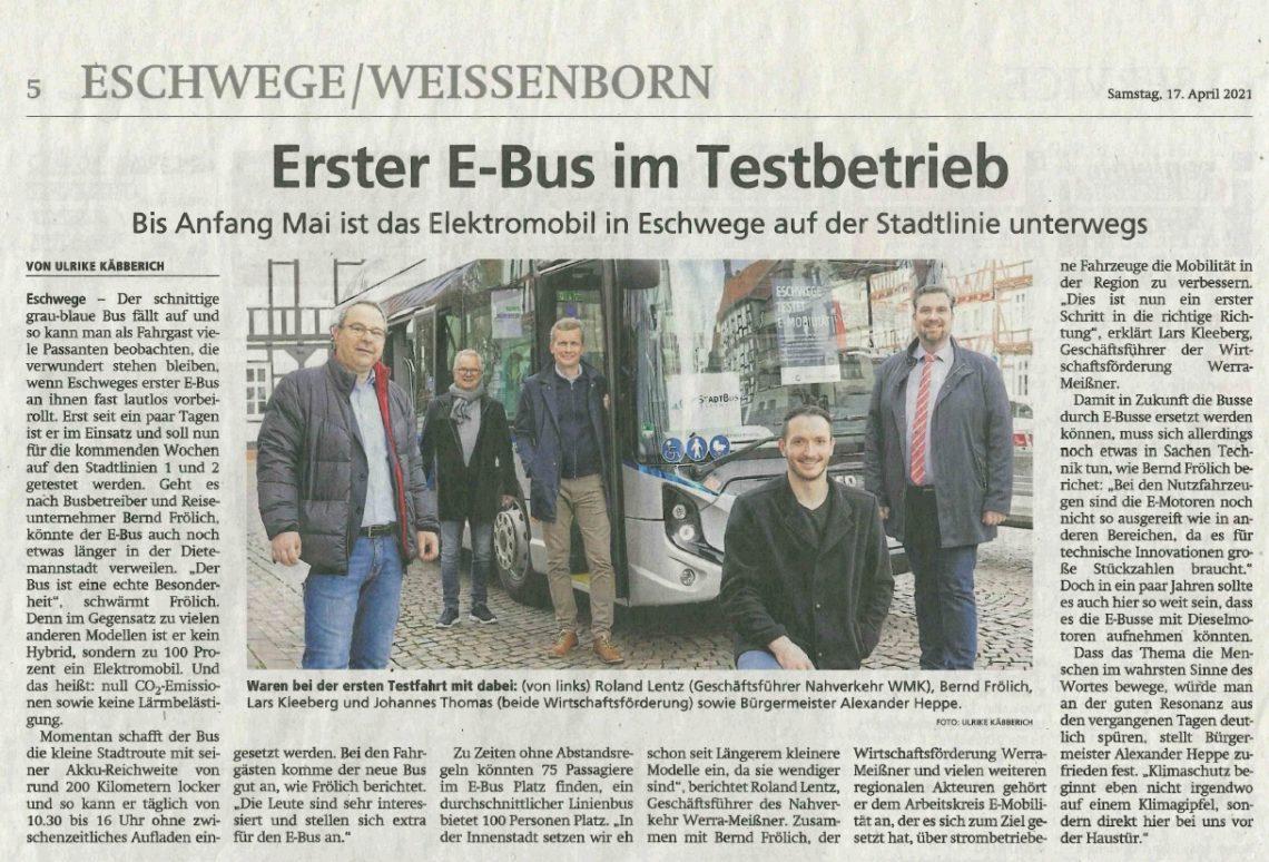 Bericht E-Bus
