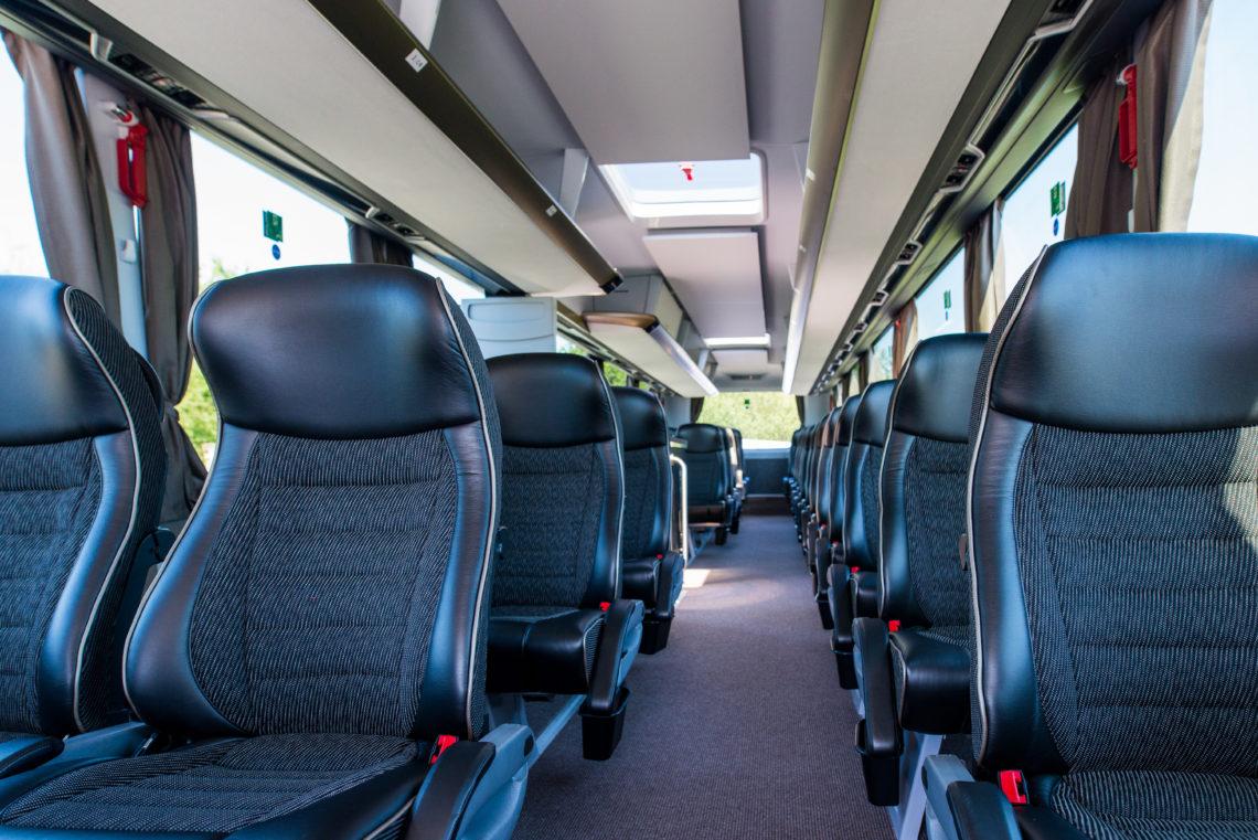 Premiumbus Innenraum