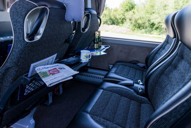 Sitzplatz Premiumbus