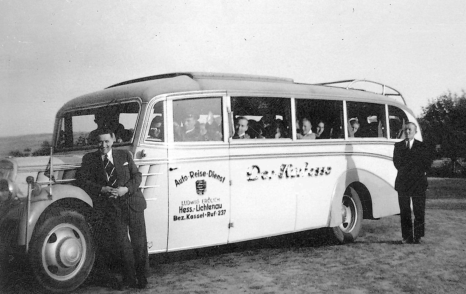 Anschaffung des ersten Reisebusses