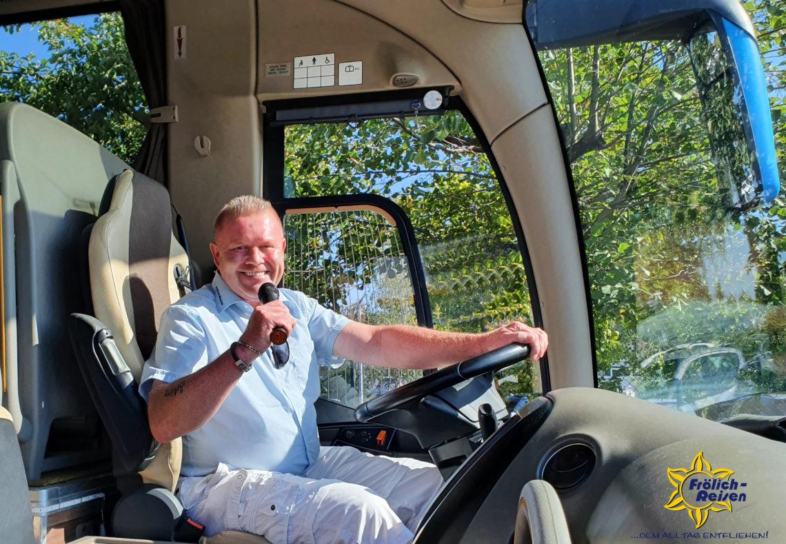Jürgen Rockenkamm im Bus