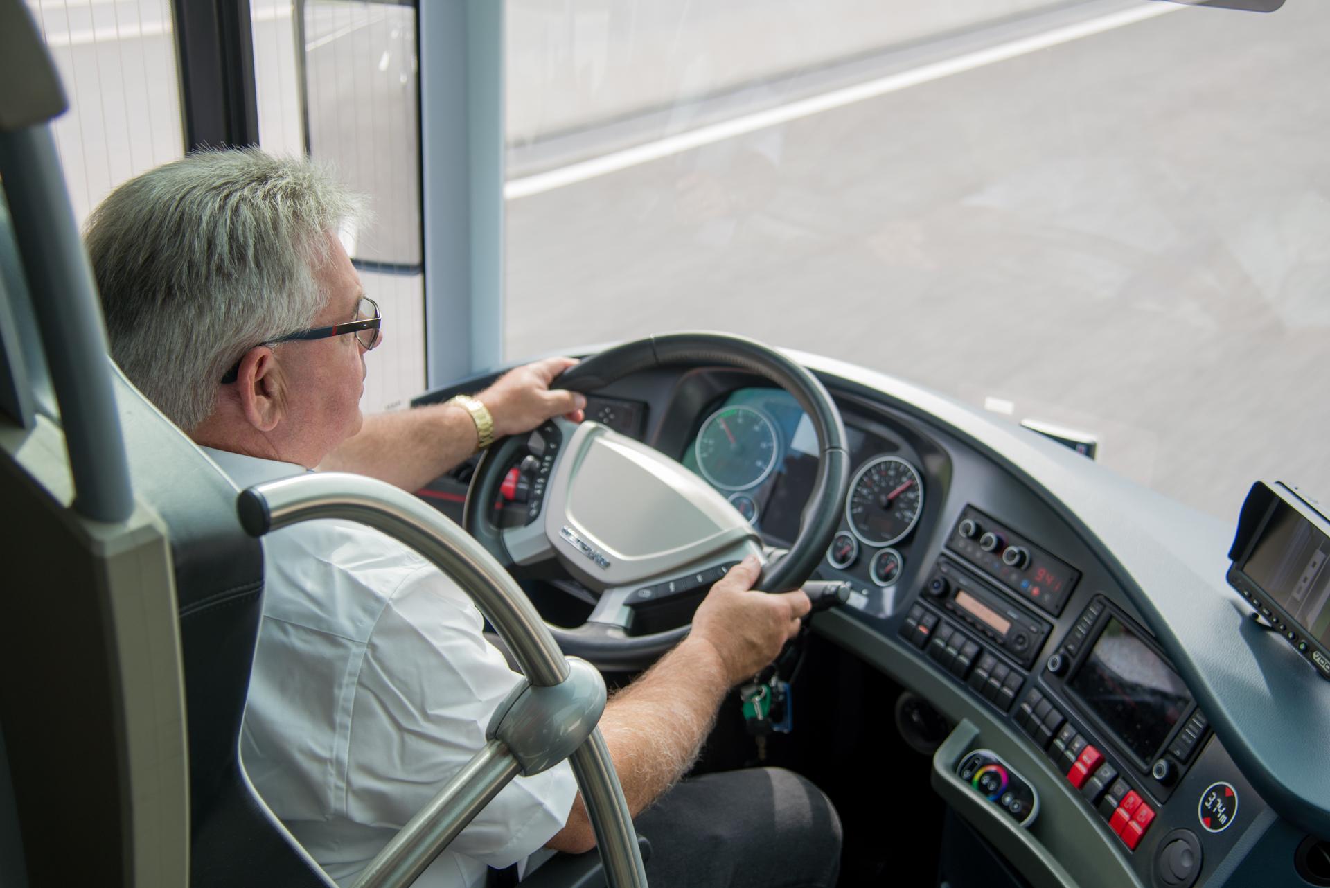 Geschulte Fahrer für eine sichere Reise!